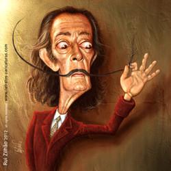 Salvador+Dali+by+Rui+Zilhao+2012+-+www.retratos-caricaturas.com
