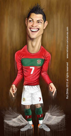 Cristiano+Ronaldo+por+Rui+Zilhao+2012