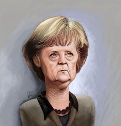Angela+Merkel+por+Rui+Zilhão