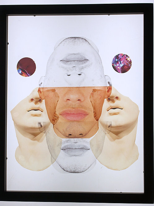 "Elixir Of Lips, 11""x14"" Photo Collage, April 2021"