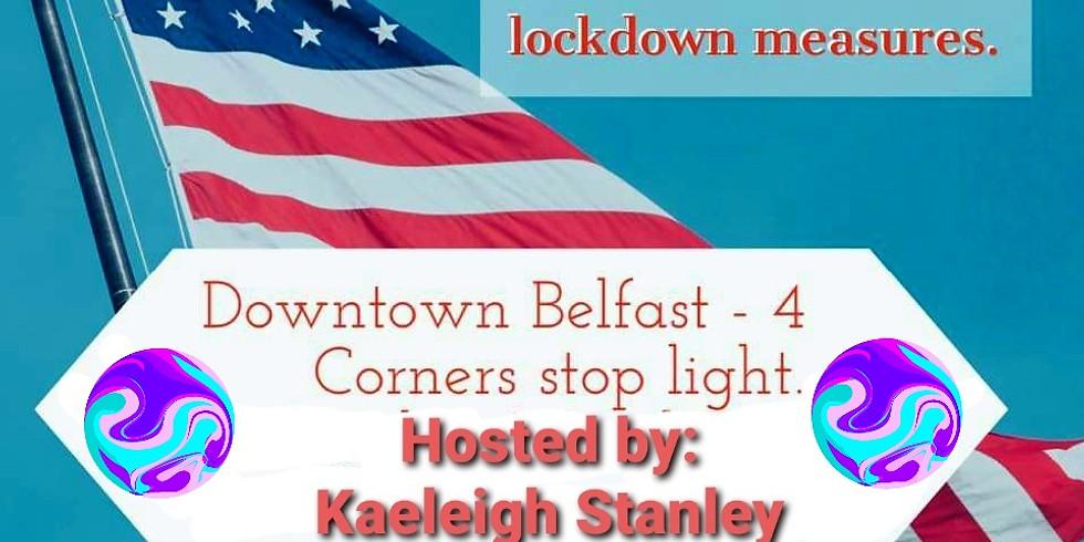 End the lockdowns! Belfast