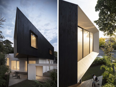 Passive solar home makes the most of a difficult, triangular site in Sydney