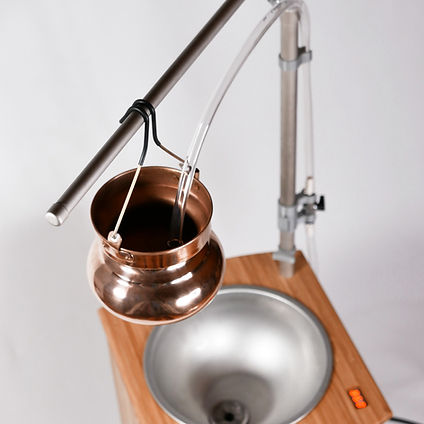 Automatic Shirdhara system adjustable stand and pot