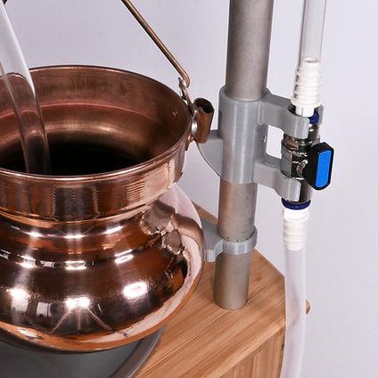 Shirodhara bowl & adjustable stand