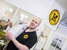 Olutmestari Ville-Petteri Salomäki