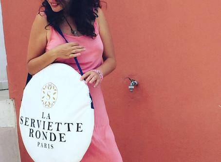 Coup de cœur de l´été: La serviette ronde Paris