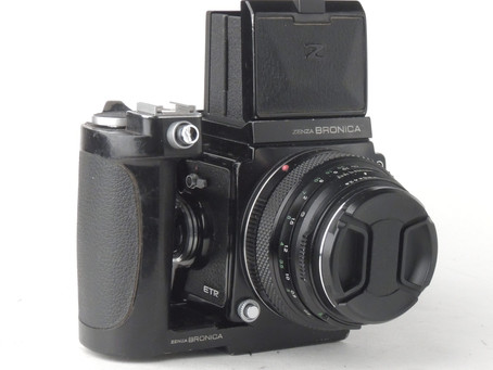 My New Medium Format Bronica ETRS Camera and Channel Update Video on YouTube