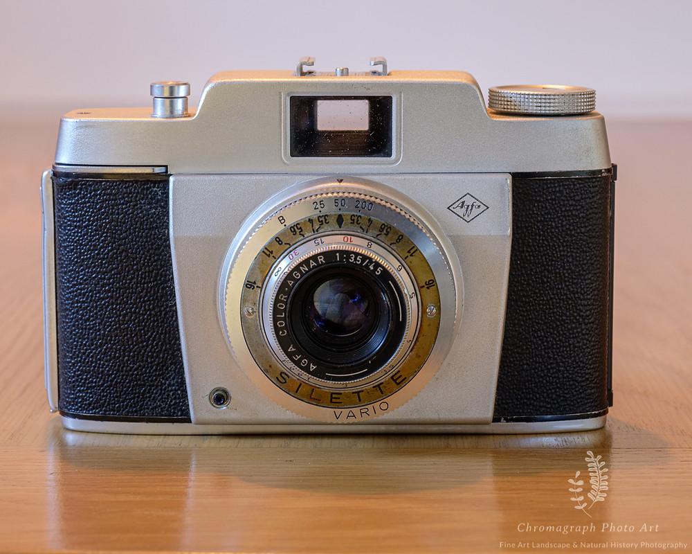 1950s German compact 35mm camera