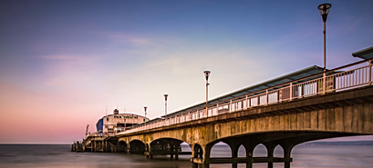 Bournemouth Pier from below