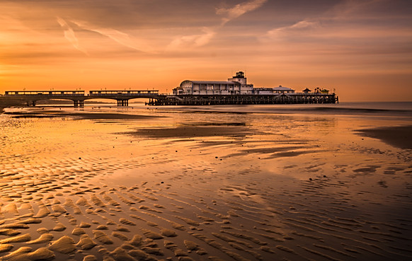 Bournemouth Pier Sunset