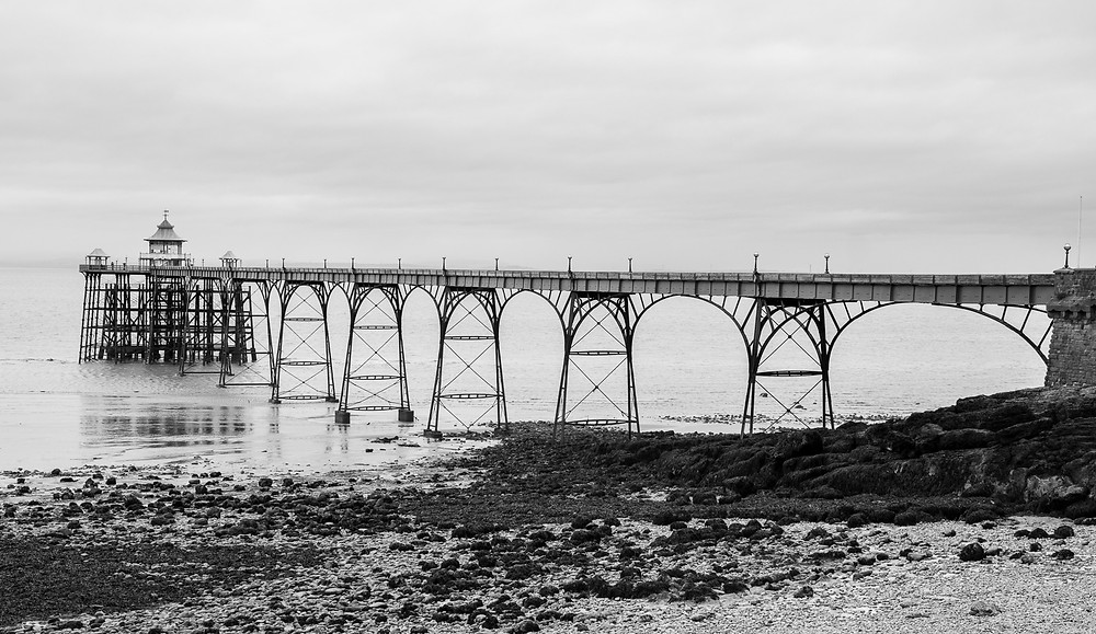 Clevedon Pier from the promenade