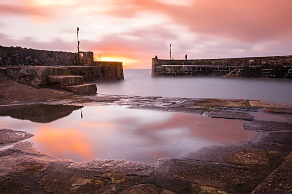 Charlestown Harbour at Dawn