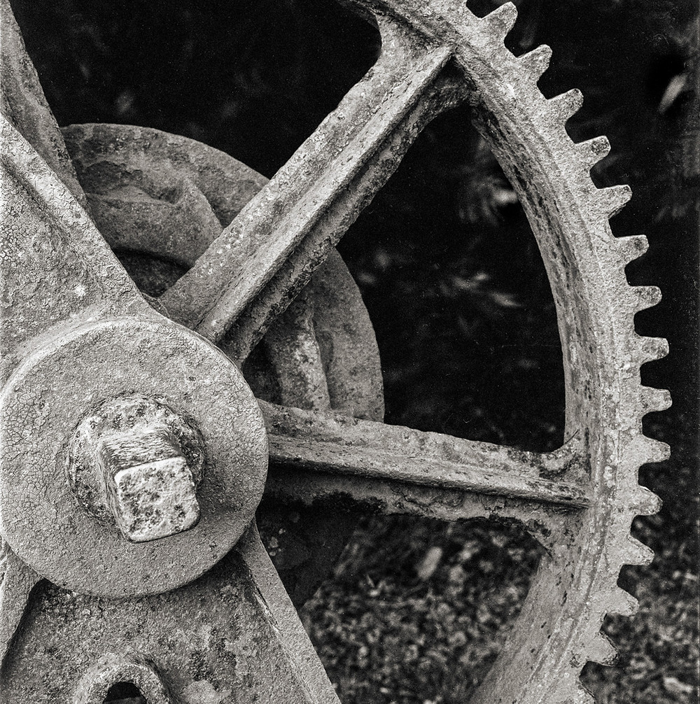 Cast Iron geared shell rusting away