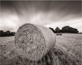 Storm over Straw Bales