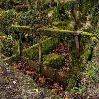Enys Garden Sluice Gate