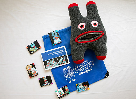 Cellie Kit for Children with Cancer-Spanish