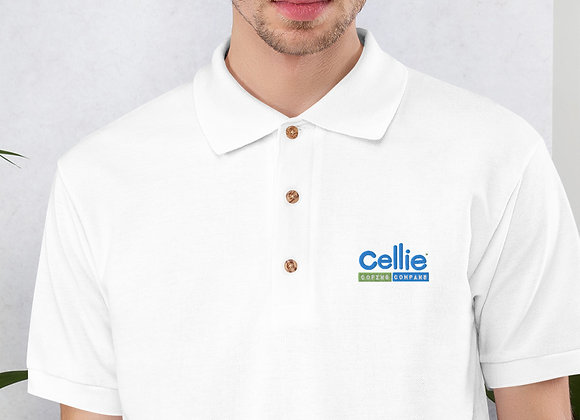 Cellie Embroidered Polo Shirt