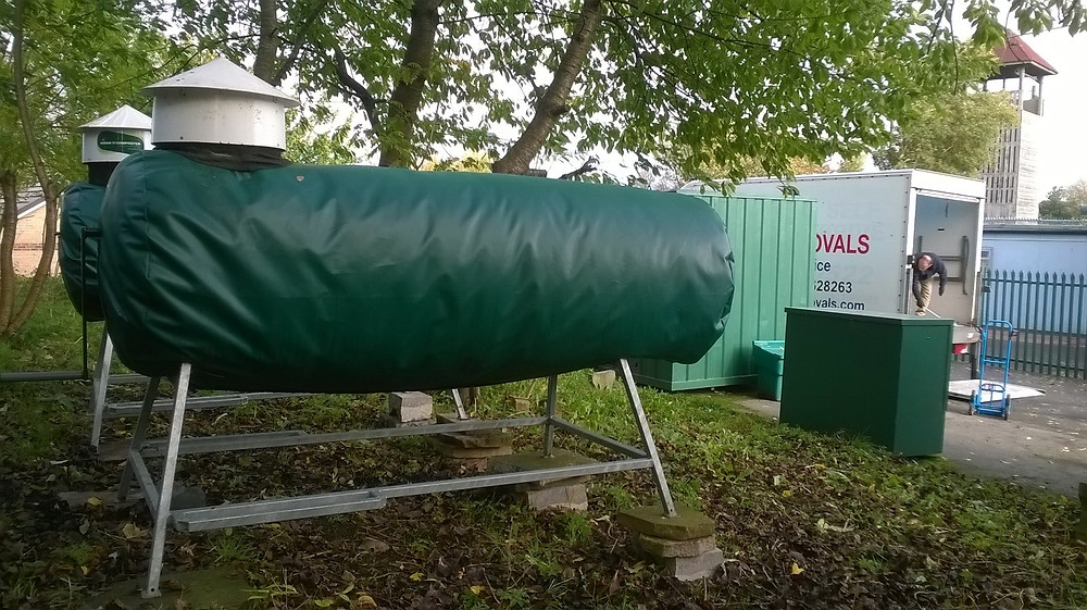 The Ridan In-vessel compost machines