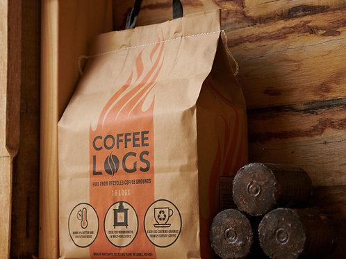 Coffee Logs (8Kg Bag/16 logs)
