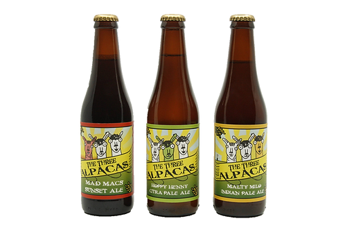 Mixed 3 Alpacas Beer Range