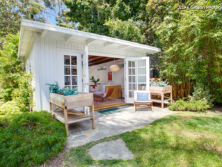 "Houzz: ""The Top Backyard Studios and Outbuildings of 2020"""