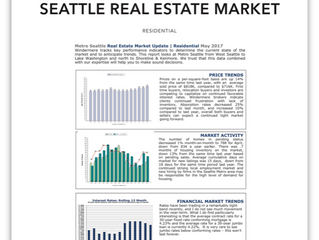 Seattle Real Estate Market Update | May 2017
