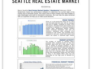 Seattle Real Estate Market Update | February 2018