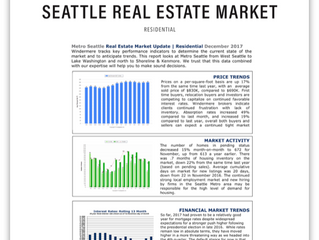 Seattle Real Estate Market Update | December 2017