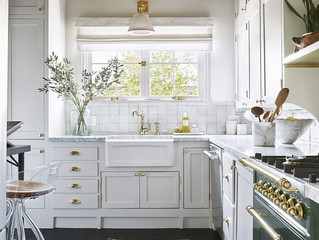 Domino | We're Demystifying How to Paint Your Kitchen Cabinets
