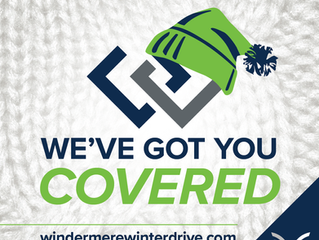 "Windermere's ""We've Got You Covered"" Winter Drive"