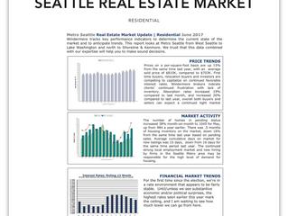 Seattle Real Estate Market Update | June 2017