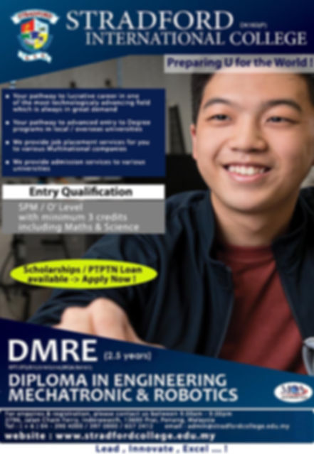 Diploma in Engineering Mechatronic & Rob
