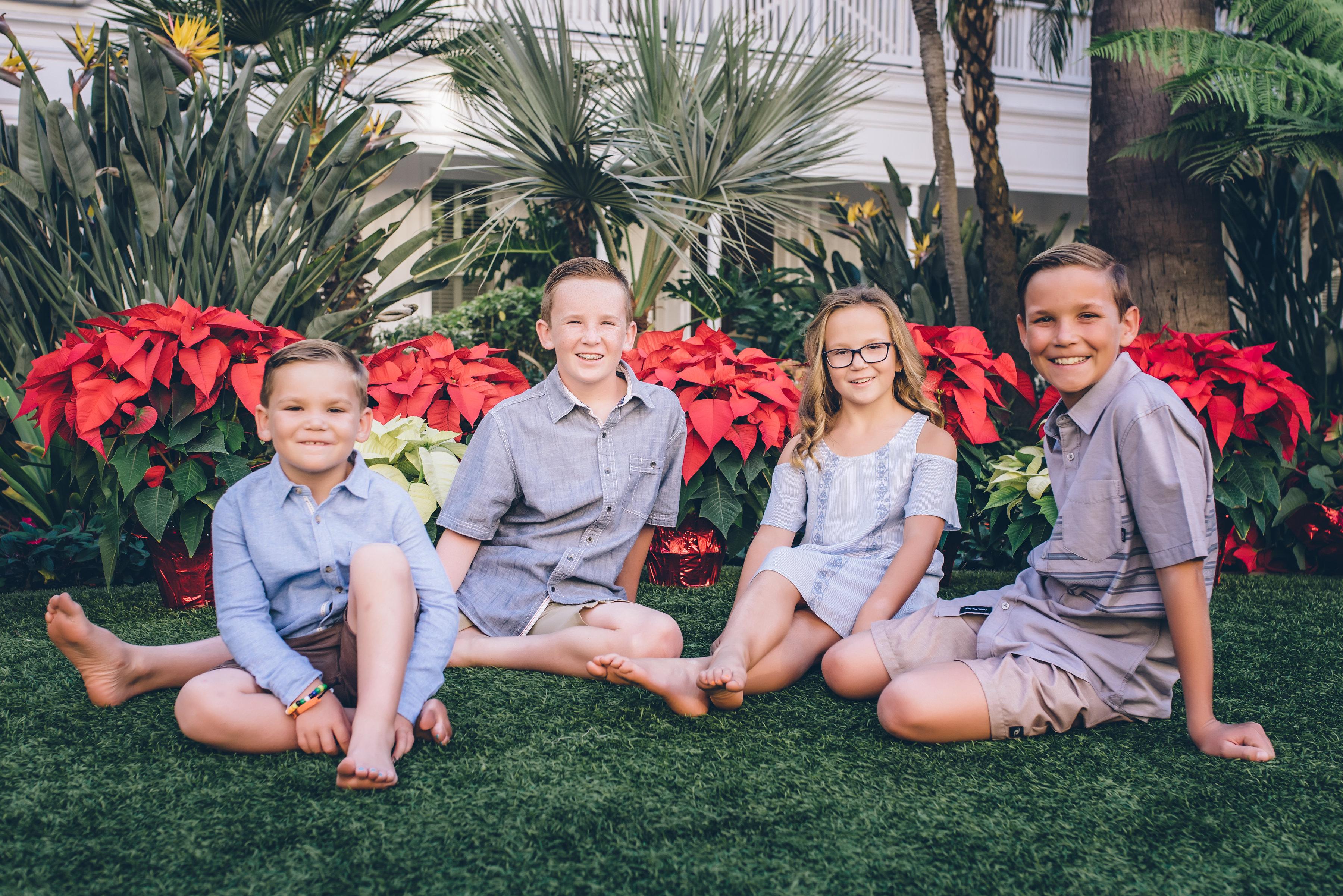 Brad's children - Nov. 2017
