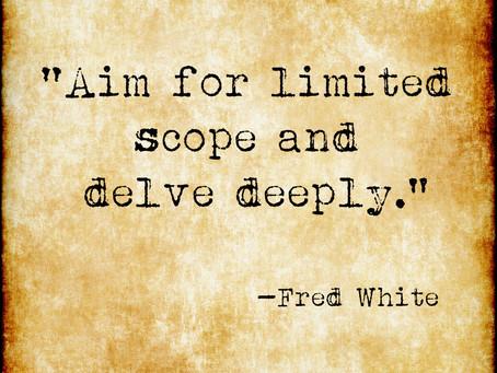 Delve Deeply