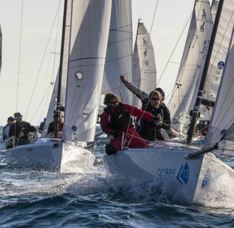 J 70 Monaco Winter Series Act II, 8-11 Dez. 2016, Starker 4 Platz für SUI 976!