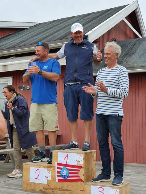 Norwegische Finn Meisterschaft 2019, Gold nach vier Wettfahrten!