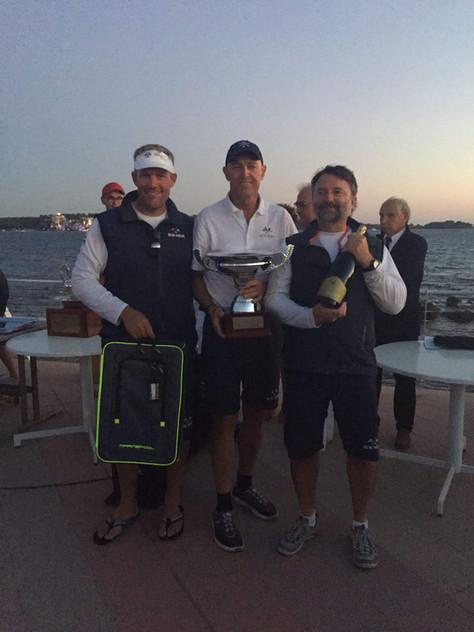Régates Royales, 5.5mIC Französische Meisterschaft 2018, Gold nach fünf Wettfahrten!