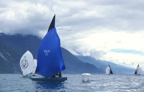 Aplencup 5.5mIC 2019 Torbole, Zweiter Platz zum Saisonauftakt!