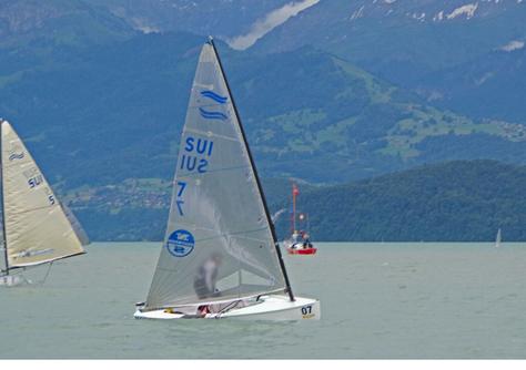 FINN Schweizer-Meisterschaft 2016, Thun, 23-26 Juni, Bronze Medaille!