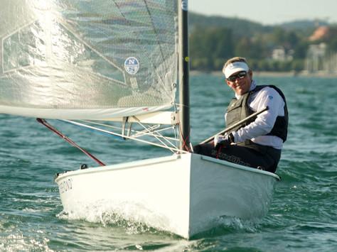 Schweizer Meisterschaft FINN in Kreuzlingen, 19-22 September. Silber gewonnen...!!!