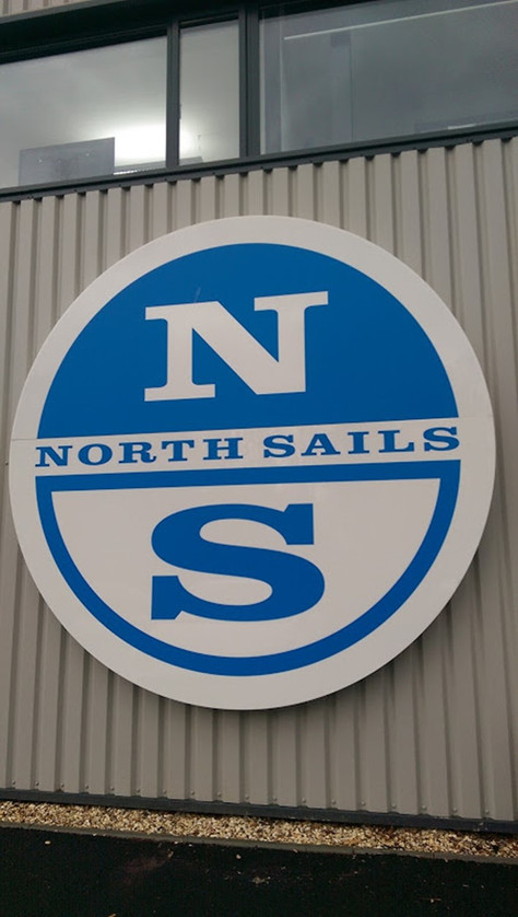 Besuch in der Mega-Loft von North Sails in England, im Dez. 2015