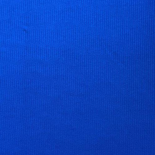 Modal/Lyocell Ribbed Jersey - Royal Blue (half metre)