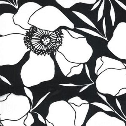 "Illustrations by Alli K Designs - 58"" canvas - Ink (half metre)"