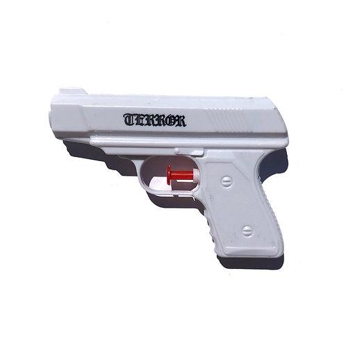 LOGO WATER GUN (WHITE)