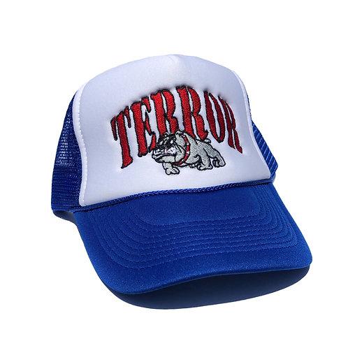 BULLDOG TRUCKER CAP (BLUE)
