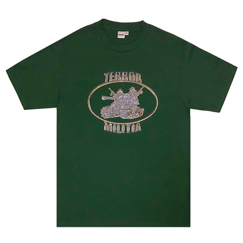 NO LIMIT TEE (FOREST GREEN)