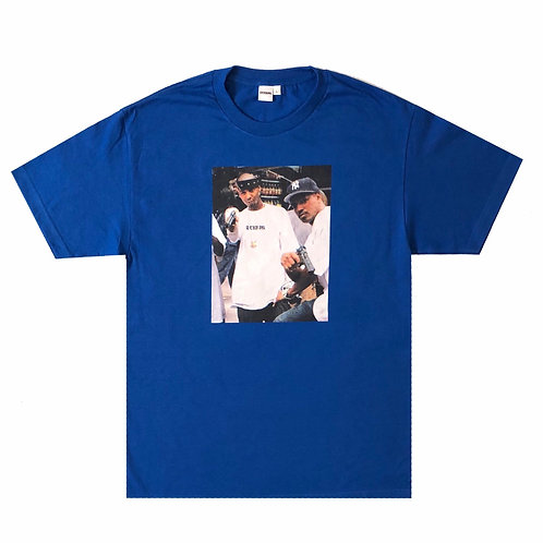 DIPSET TEE (ROYAL)