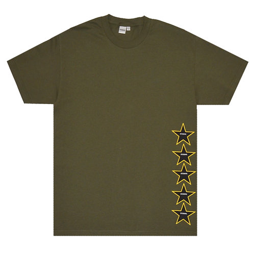 STAR TEE (MILITARY GREEN)