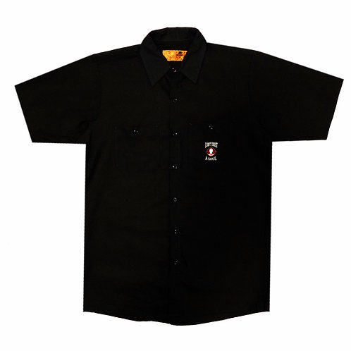 I CAN'T TRUST A SOUL WORK SHIRT (BLACK)