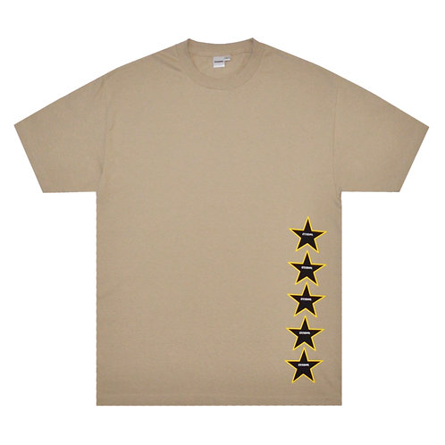 STAR TEE (SAND)